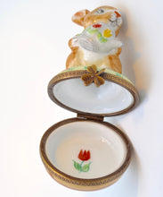 Tea-Pouring Bunny Rabbit Limoges