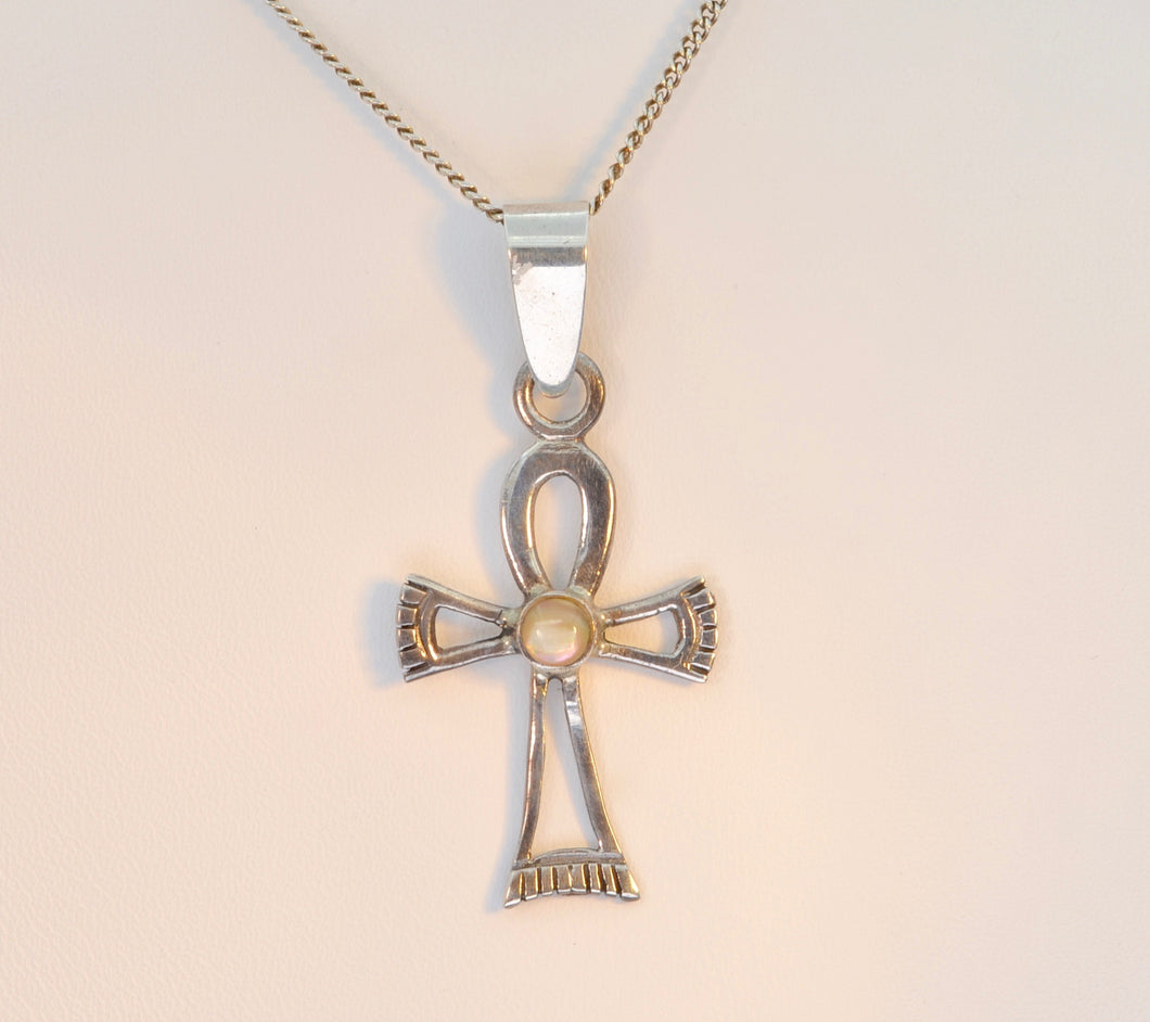 Sterling Silver Ankh Cross