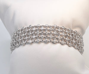 Diamond Bracelet set in 14K White Gold