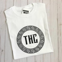 THC Logo Tee - White and Black