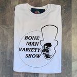 Boneman Variety Tee - White and Black