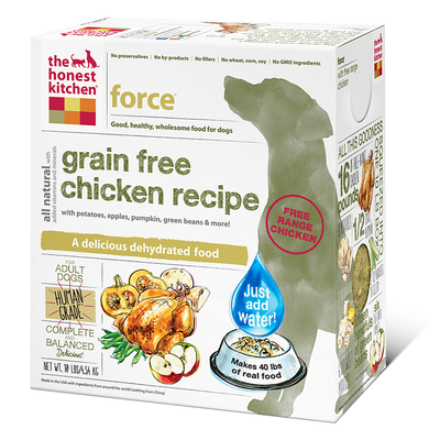 Honest Kitchen Force - Natural Dawg Cuisine