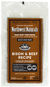 Northwest Naturals Bison and Beef Bar - Natural Dawg Cuisine