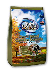 NutriSource Small Breed Chicken - Natural Dawg Cuisine
