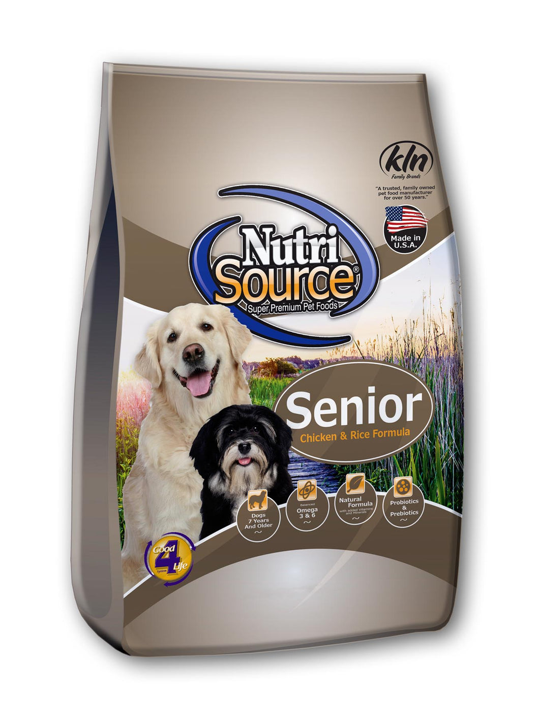 NutriSource Senior - Natural Dawg Cuisine