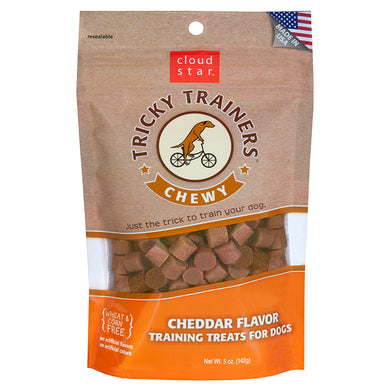 Tricky Trainer Chewy Cheddar 5oz - Natural Dawg Cuisine