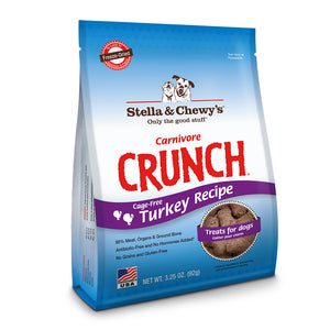 Stella and Chewy Carnivore Crunch Turkey 3.25oz - Natural Dawg Cuisine