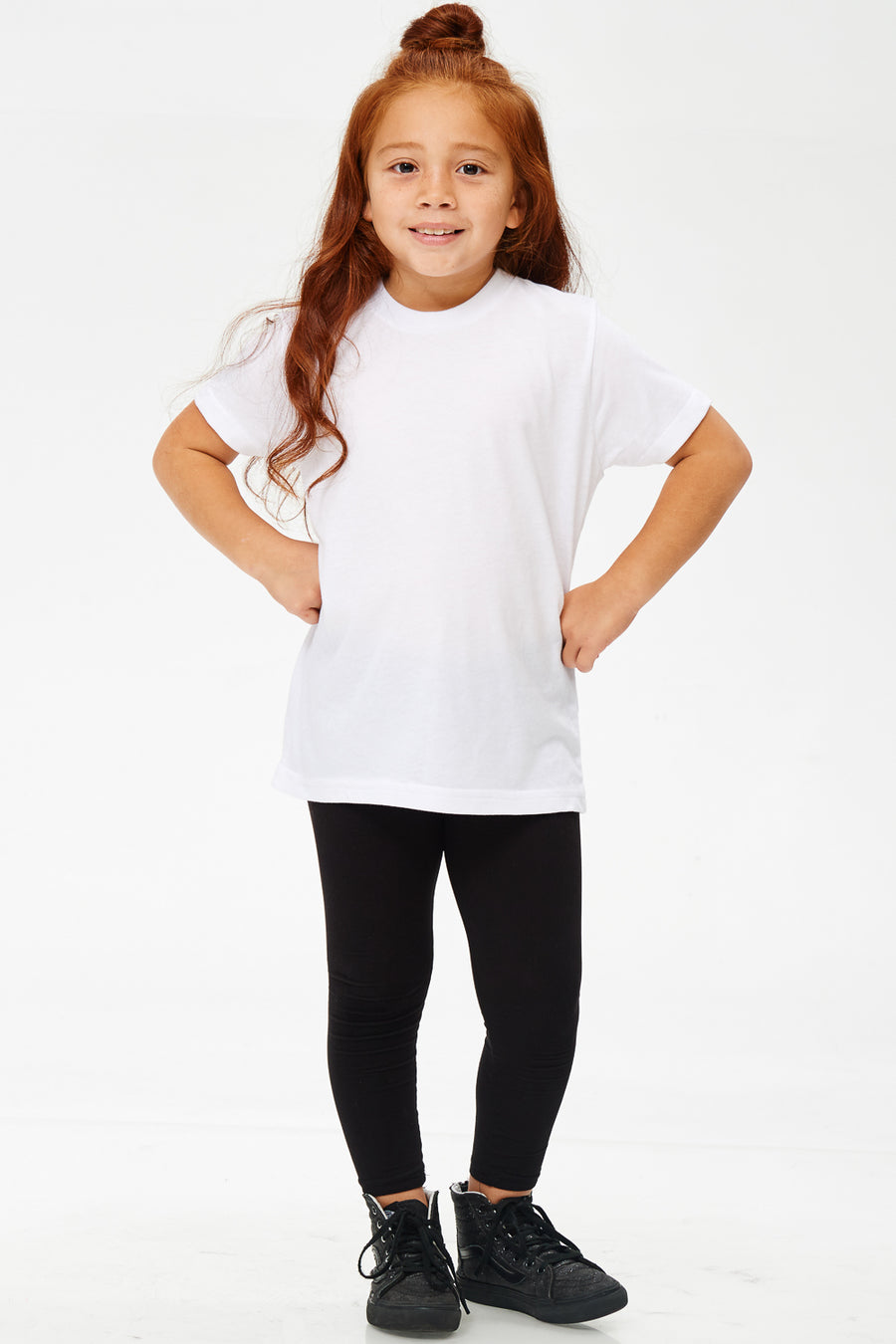 204: YOUTH POLY-COTTON TEE
