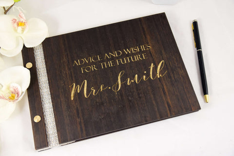 Advice for the bride wedding book
