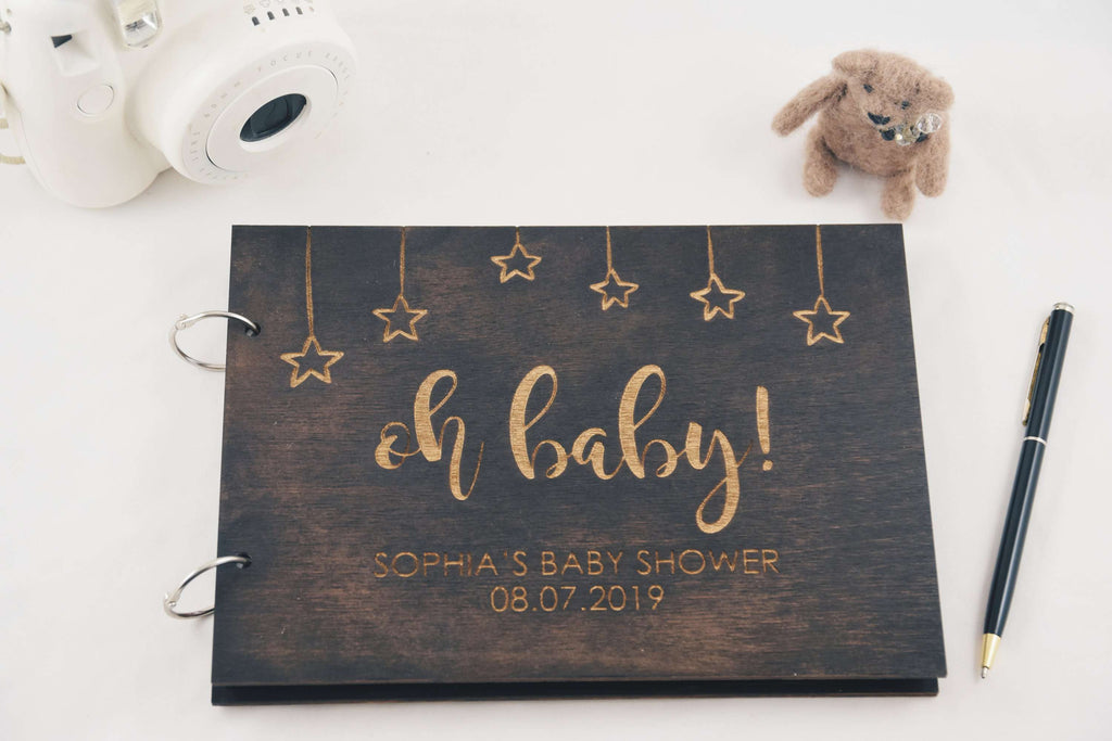 Oh baby - Baby shower book