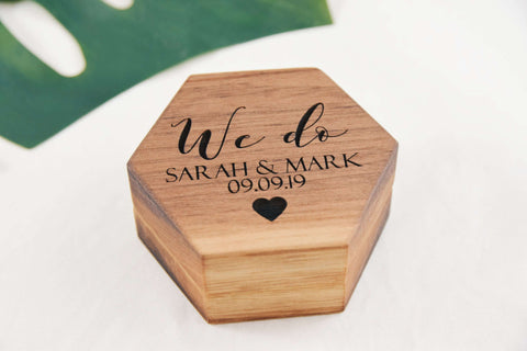 We do - Double ring box