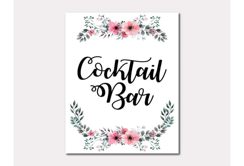 Cocktail Bar Sign