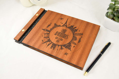 Our adventures wood journal