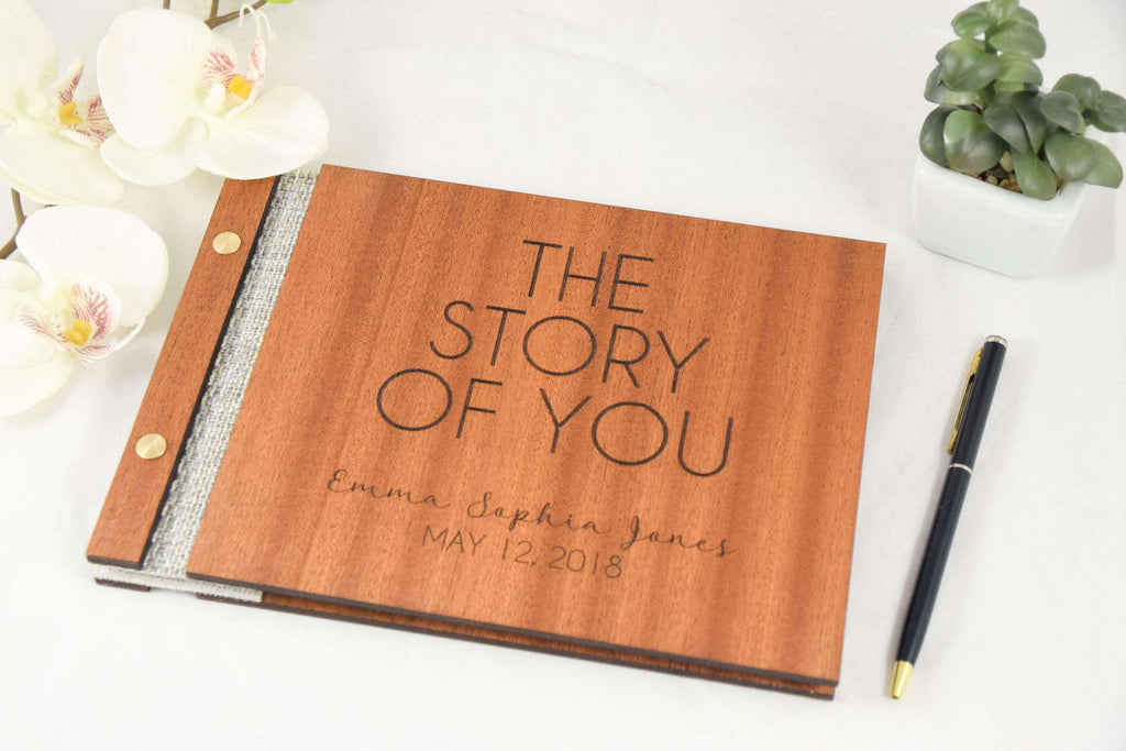 The story of you baby journal