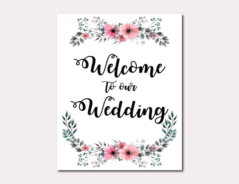 picture relating to Please Sign Our Guestbook Printable referred to as No cost Printable Wedding day Signs and symptoms Alwedo