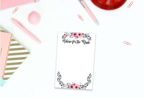 Advice for the bride to be cards