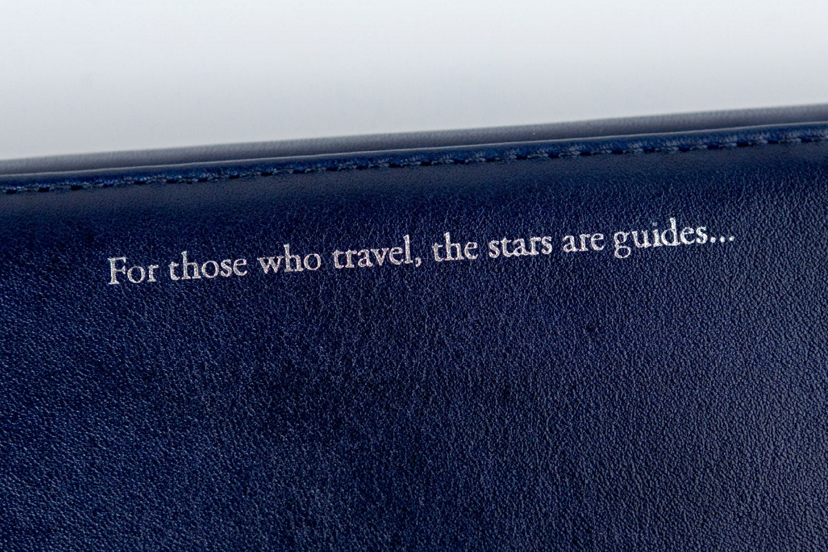 For those who travel, the stars are guides