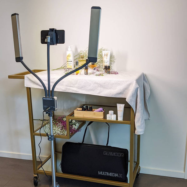 Build your home photo studio with GLAMCOR professional lighting kit