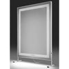 FLICKER-FREE LIGHTED STUDIO OR SALON MIRROR
