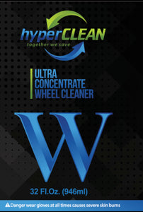 hyperCLEAN W Bottle Label