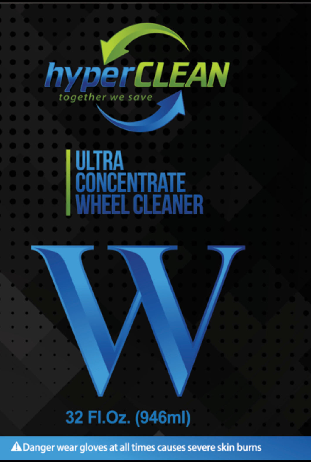 hyperCLEAN W Cube Label