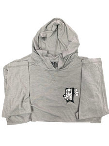 Tri-Blend Hooded Tee - Men's - Mogi Embroidered