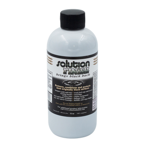 Solution Finish Black Plastic & Vinyl Restore - 12 Oz 20% OFF