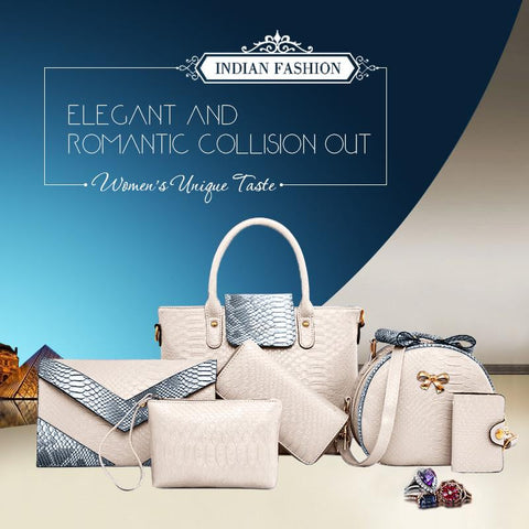 6 IN 1 Big Bonanza Luxury Combo Bags With 50% Mega Offer!
