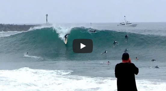 Jamie O'Brien, Chris Ward, Poopies, Brad Domke and more charge the Wedge