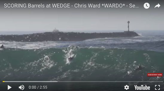 SCORING Barrels at WEDGE - Chris Ward *WARDO* - September 14, 2018