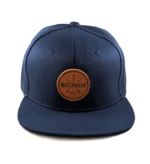 Watermark Navy Blue Snapback - Watermark Surf Shop