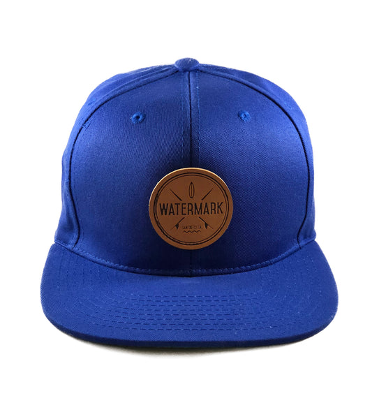 Watermark Blue Snapback - Watermark Surf Shop