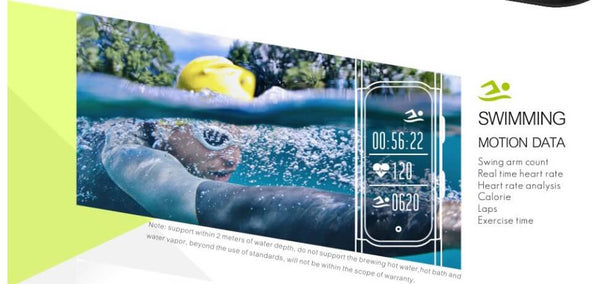 smart watch natation