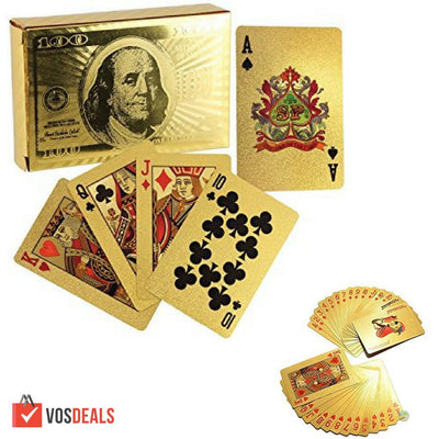 Vos Deals Jeux de cartes OR(54)