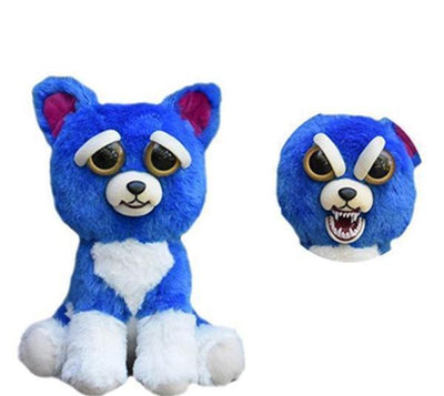 Vos Deals Chat Bleu Peluche monstre