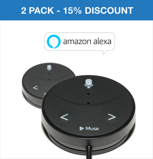 Muse Auto - Alexa Voice Assistant for Cars (2 PACK)