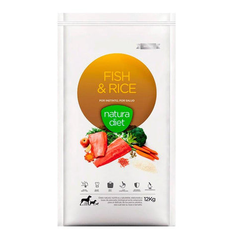 Natura Diet Fish & Rice pescado