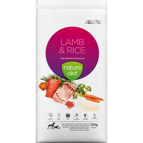 NATURA DIET LAMB AND RICE