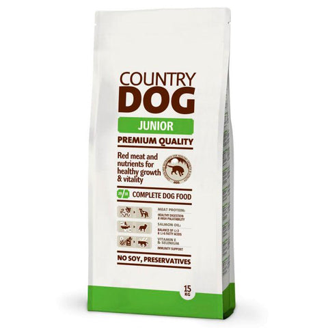 COUNTRY DOG JUNIOR 15KG