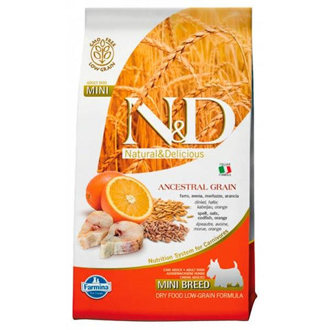 Farmina Low Grain Perro Adulto Pescado y Naranja mini