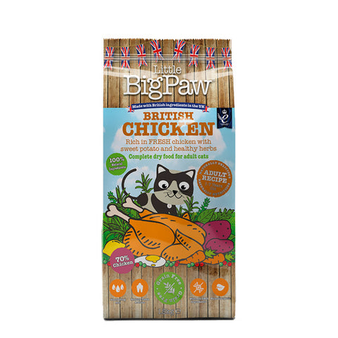 little big paw pienso gatos pollo chicken