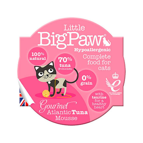 little big paw gato tuna atun