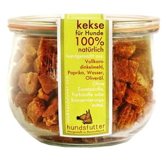 HUNDSFUTTER GALLETAS ZANAHORIA NATURAL 180gr