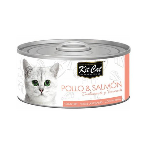 Kit Cat pollo y salmon alimentación natural para gato