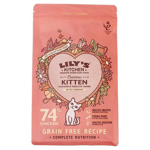 Lily's Kitchen Curious Kitten 800gr