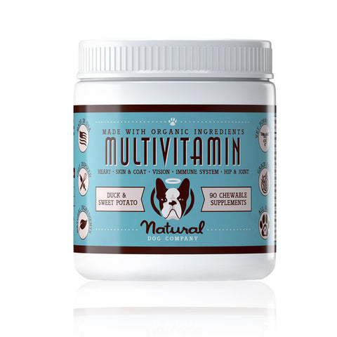natural dog company multivitaminas