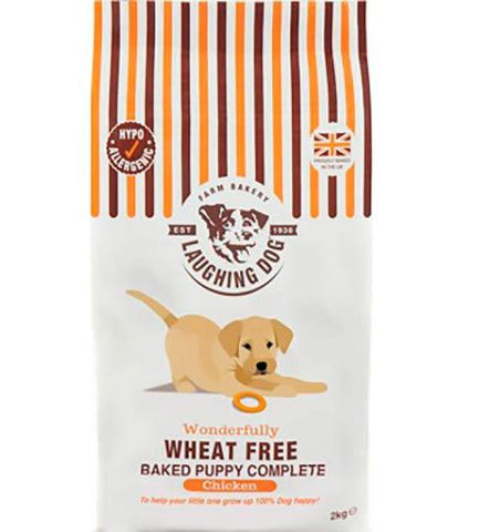 Laughing Dog Pollo Puppy Sin Cereales 10Kg