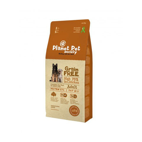 planet pet grain free pollo