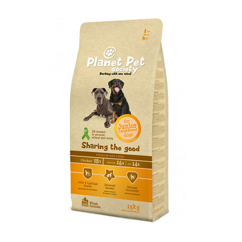 planet pet junior large pienso perro