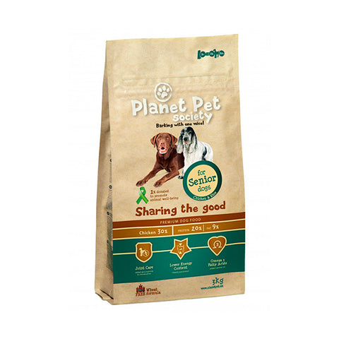 planet pet senior pienso perro
